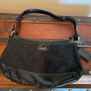 Black Coach Handbag style f19731